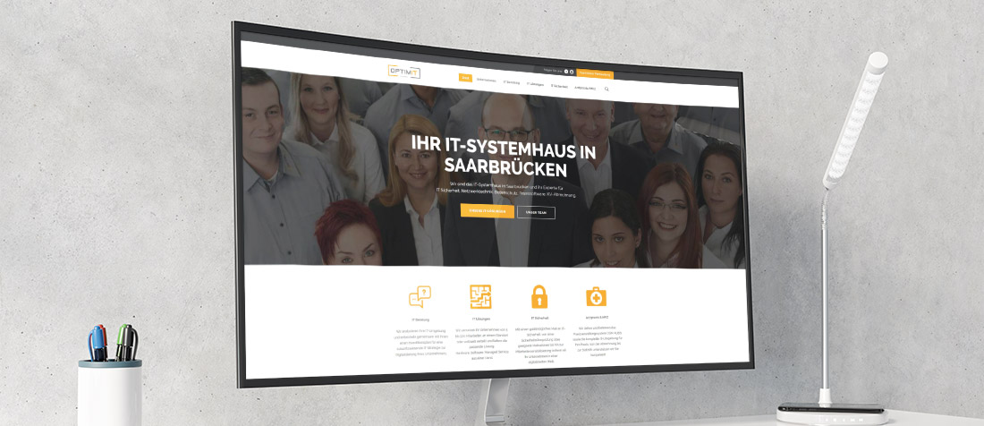 Neue Homepage optimIT GmbH